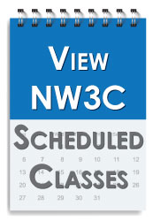 NW3C Scheduled Classes